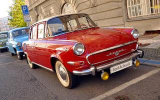 Škoda 1000 MBG Rent Praha