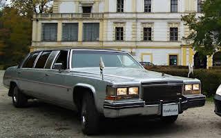 Cadillac Fleetwood Brougham Limousine Rent Moravskoslezský kraj