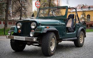 Jeep CJ-7 Rent Královehradecký kraj