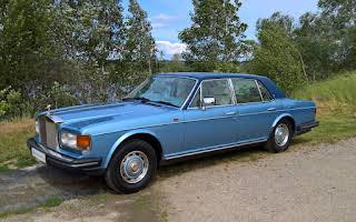 Rolls Royce Silver Spirit Rent Praha