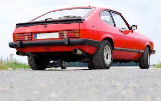 Ford Capri Ghia 2.8v6 Rent Kraj Vysočina